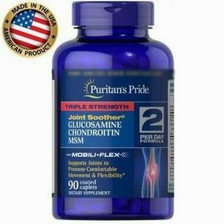 Glucosamina Condroitina Msm 45 Doses (2por Dia)- 90tab Puri.