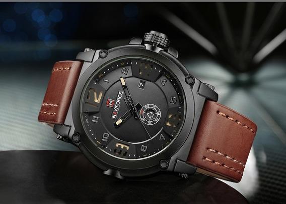 Relógio Militar Masculino Naviforce 9099 Original Esportivo