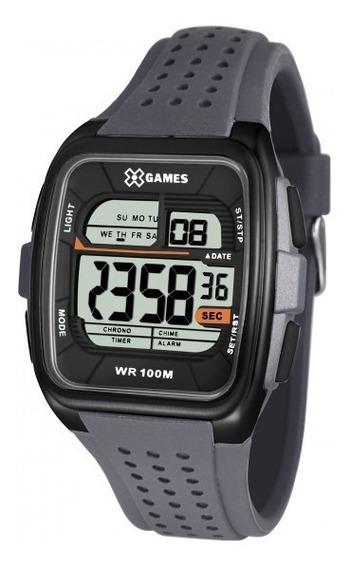 Relógio Xgames Xgppd102 Bxgx Preto Cinza Masc - Refinado