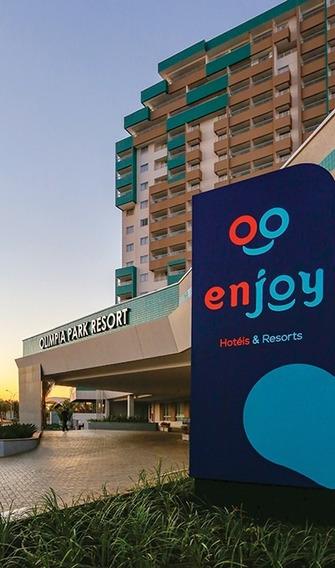 Olímpia Park Resort - Torre D - Ap 411 - Cota 04