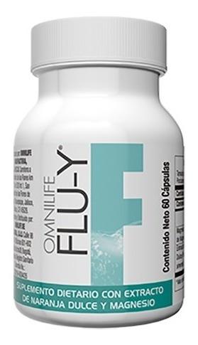 Flu-y Omnilife 60 Capsulas Magnesi - Unidad a $1167