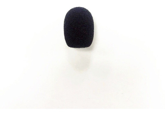 Esponja Micrófono Lavalier Solapa Diadema Anti Pop Viento Profesional Condensador
