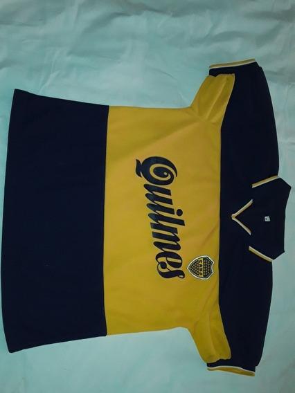 Camiseta Ca Boca Jrs Retro 1998 S Amplio