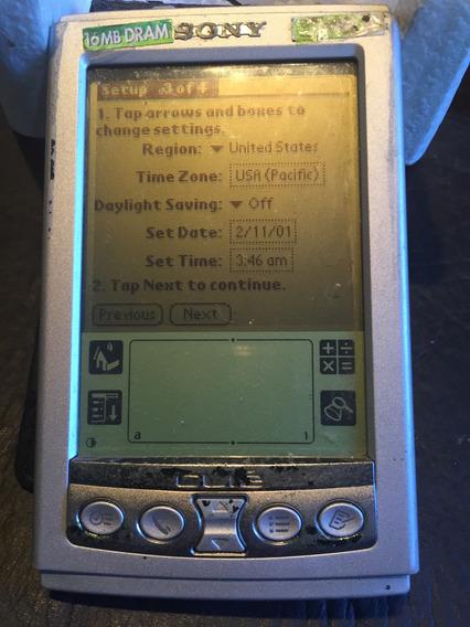 Palm Sony Clie