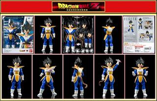 Dragon Ball Vegeta Scouter S.h. Figuarts Swargento!
