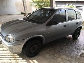 Chevrolet Corsa Gl 1.6 5 Portas Ano 1996/97 Prata