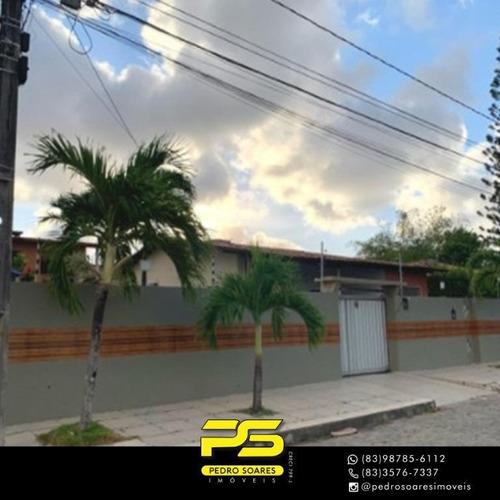 Casa Com 4 Dormitórios À Venda, 240 M² Por R$ 650.000 - Cristo Redentor - João Pessoa/pb - Ca0768