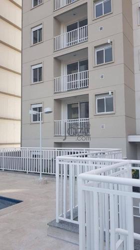 Excelente Apartamento Novo, Com Acabamento, Pronto Para Mudar, 2 Dormitórios À Venda, 60 M² Por R$ 345.000 - Condomínio Praxx - Itatiba/sp - Ap3237