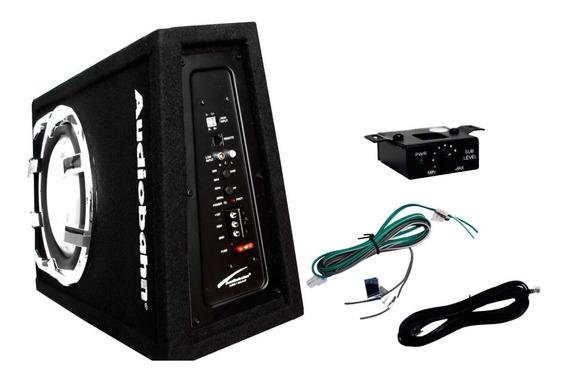 Cajon Slim Activo 12 800w Amplificado Accesorios Instalación