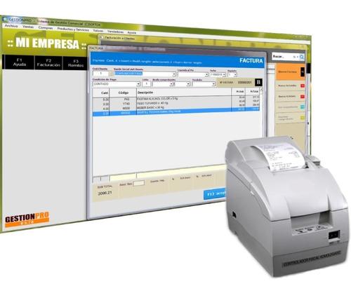 Sistema De Facturacion Gestionpro P/ Impresora Fiscal Hasar