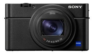 Sony Cyber-shot RX100 VII compacta avanzada negra
