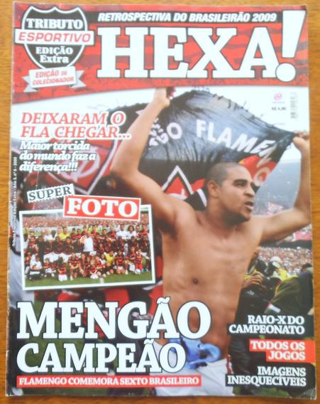 Revista Flamengo Nº 6 Campeão Brasileiro 2009 Com Pôsteres