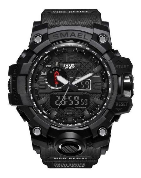 Relógio Esportivo Masculino Smael Sl-1545 Frete Grátis