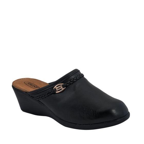 Zapato Confort Dama Shosh Negro 166108 Cft 1-19 J