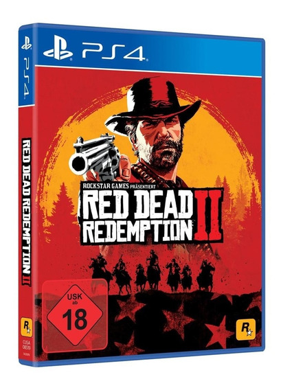 Red Dead Redemption 2 - Ps4 (com Mapa)