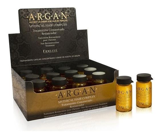 Caja De Ampollas Intensivas De Argan 12 X 15ml - Fidelite