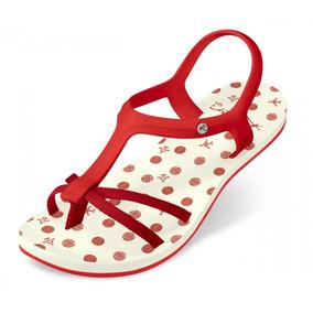 Sandália Kenner Lips Wing Sandal Fly Tlz Vermelha Original