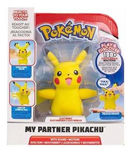 Pokémon Y Sistemas Electrónicos Interactivo Mi Socio Pikachu