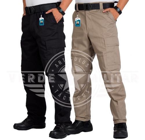 Pantalon Bolsas De Cargo Tactico Comando Otan Gabardina Kaki Reforzado En Entre Pierna Y Rodillas Uniforme Trabajo Rudo Mercado Libre