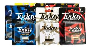 Today Condones. 27 Unidades Surtidas. Envío Gratis