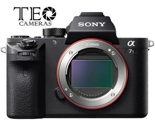 Câmera Sony A7s Ii - 4k [nota Fiscal + 1 Ano Garantia Sony]