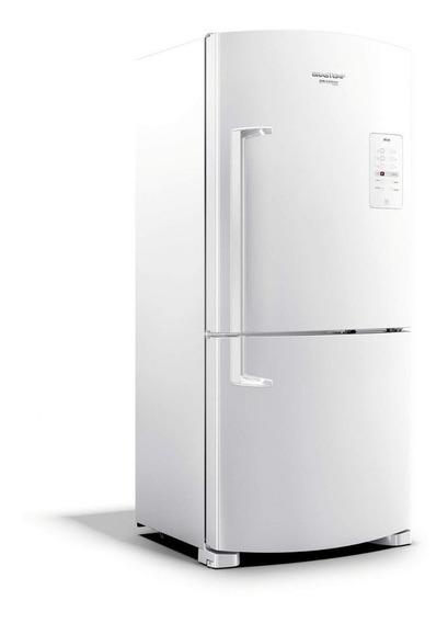 Geladeira frost free Brastemp BRE80AB branca com freezer 573L 110V