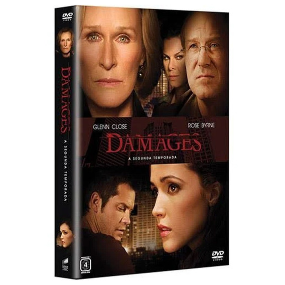 Seriado Damages 2ª Temporada 3 Discos Dvd - Original
