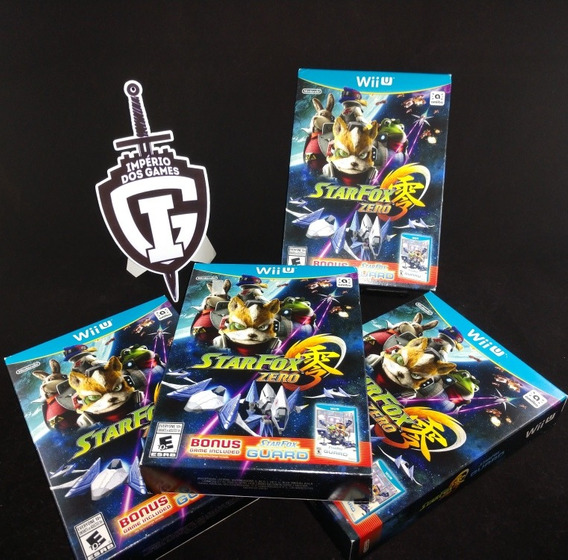 Star Fox Zero + Star Fox Guard - Wii U - Novo - Lacrado