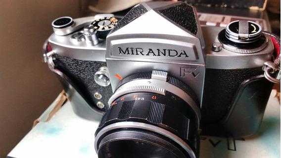 Câmera Miranda Fv + Lente 50mm 1.9 Na Caixa