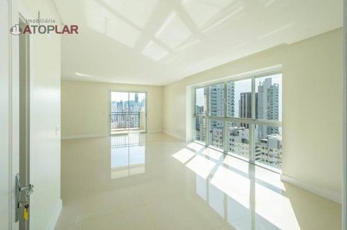 Apartamento Com 2 Suítes + 2 Demi Suítes À Venda, 146 M² Por R$ 2.815.662 - Centro - Balneário Camboriú/sc - Ap2090