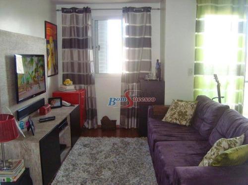 Imagem 1 de 30 de Apartamento Com 2 Dormitórios À Venda, 63 M² Por R$ 445.000,00 - Vila Santa Clara - São Paulo/sp - Ap2252