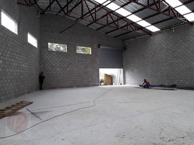 Galpão Comercial Para Locação, Vila Valparaíso, Santo André. - Ga0155