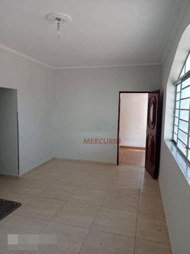 Ótima Casa Com 3 Dormitórios Para Alugar, 200 M² Por R$ 2.000/mês - Jardim América - Bauru/sp - Ca3488