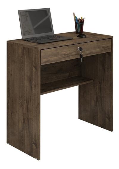 Mesa Escrivaninha Para Computador Andorinha Cacau 1 Gaveta