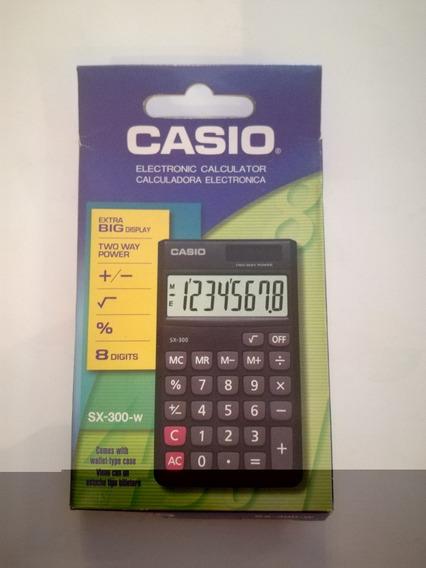 Calcuradora Casio 8 Digitos Sx-300w