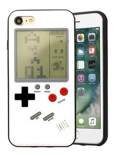Funda iPhone X 6 7 8 Plus Case Tetris Juego Retro Gameboy /e