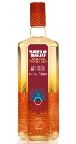 Licor Con Tequila Oro Suelo Rojo 750ml