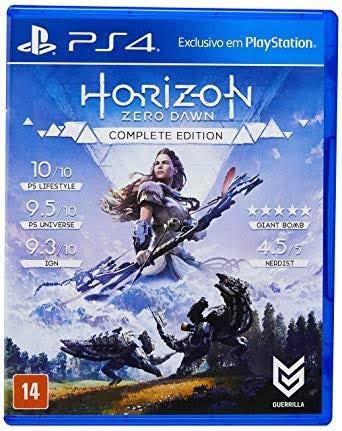 Ps4 - Horizon Zero Dawn Complete Ed - Mídia Física
