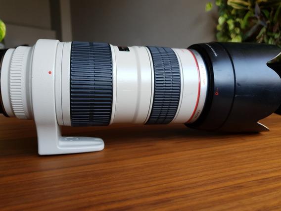 Lente Canon 70-200l 2.8