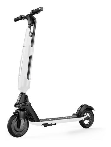 Monopatin Electrico Scooter Auton.30km Usb Blanco Cuotas U1