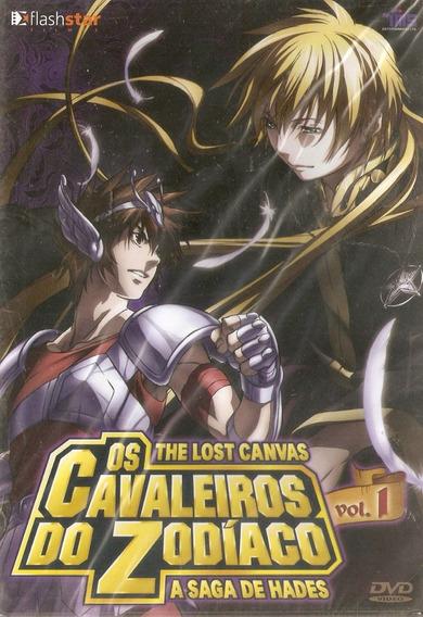 Dvd Os Cavaleiros Do Zodíaco - A Saga De Hades - Vol. 1
