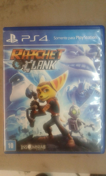 Jogo Ps4, Ratchet And Clank