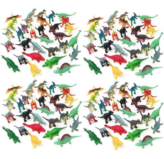 Set De Jugetes Dinosaurios Miniatura 150 Pzas Deco Juego