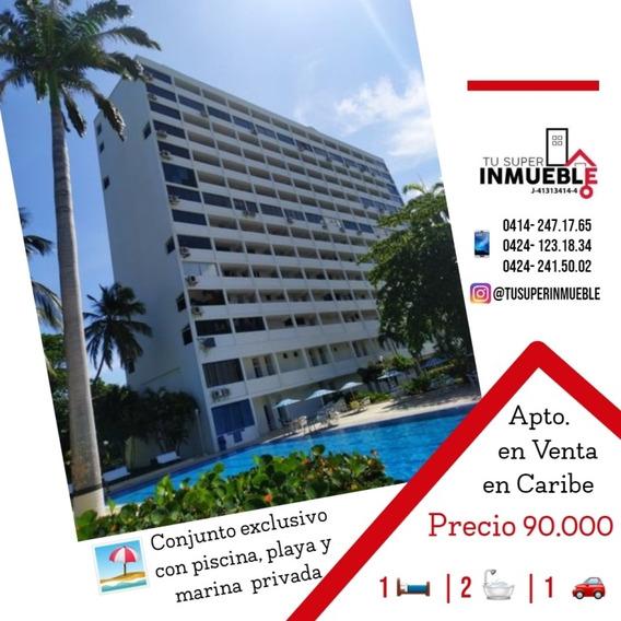 Apartamento En Venta Caraballeda (caribe) 1h- 2b- 1p