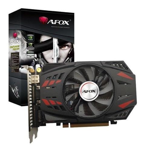 Imagem 1 de 2 de Placa De Vídeo Barato Afox Geforce Gtx750ti 2gb Gddr5 128bts