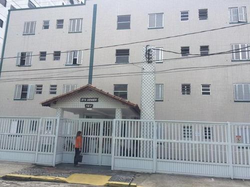 Imagem 1 de 7 de Apartamento Para Venda, 1 Dormitórios, Boqueirão - Praia Grande - 915