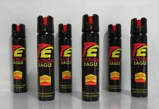 Paquete 6 Piezas Spray Protección Pimienta Seguridad