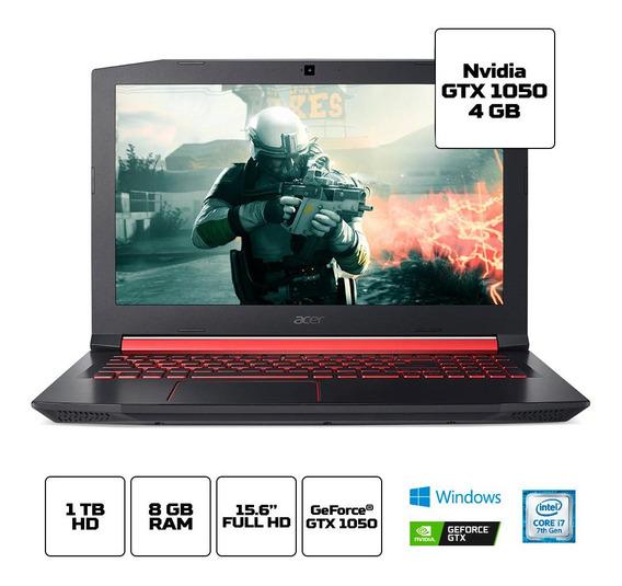 Notebook Gamer Aspire Nitro An515-51-77fh I7 8gb 1tb W10