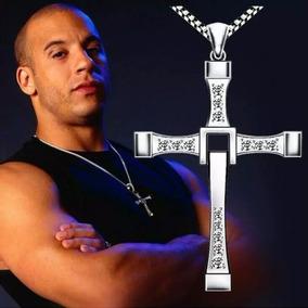 Corrente Cordão Colar Masculino Com Crucifixo Van Diesel