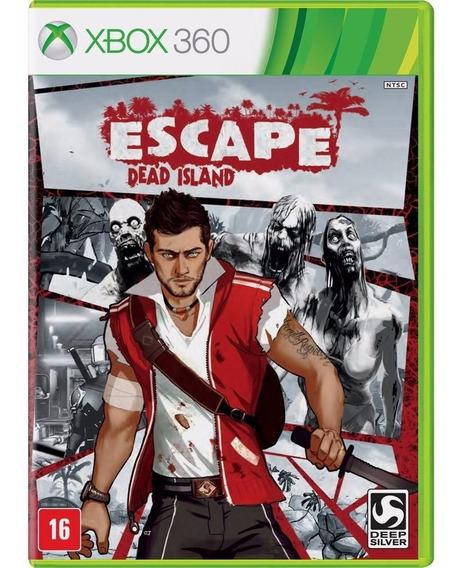 Game Xbox 360 Dead Island Escape - Original - Novo